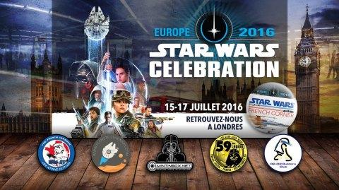 Planète Star Wars avec le Star Wars French Corner à Celebration Europe