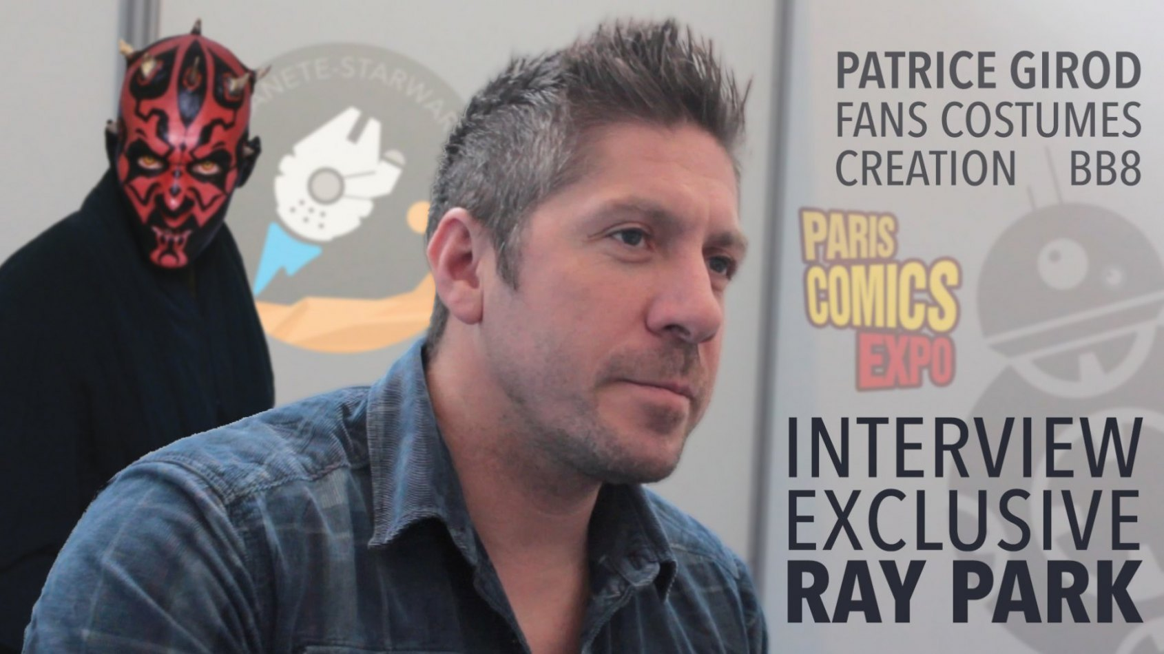 Notre reportage du PCE avec Ray Park, Patrice Girod et la 59ème Légion