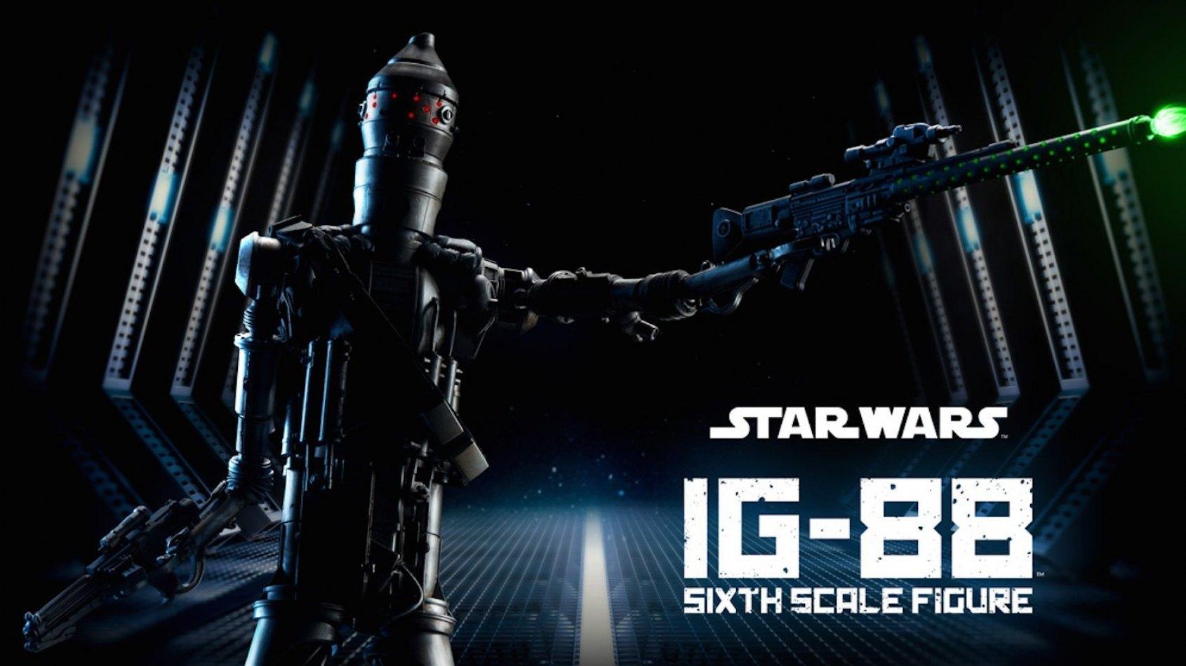 Sideshow annonce la figurine du droïde assassin IG-88