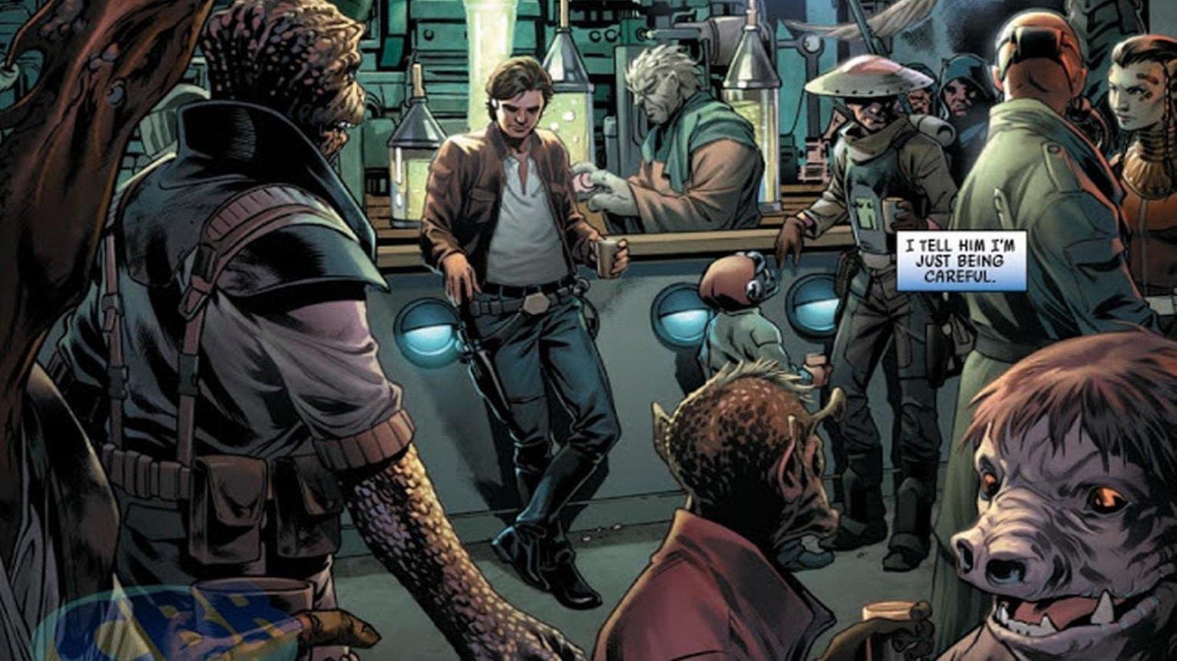 De nouvelles images pour le Comic Han Solo #1
