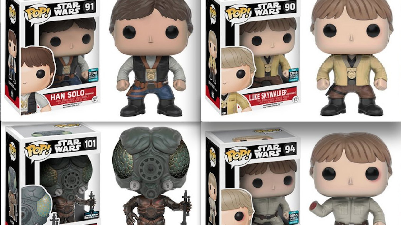 Les Exclusivités Funko Pop de Celebration Londres