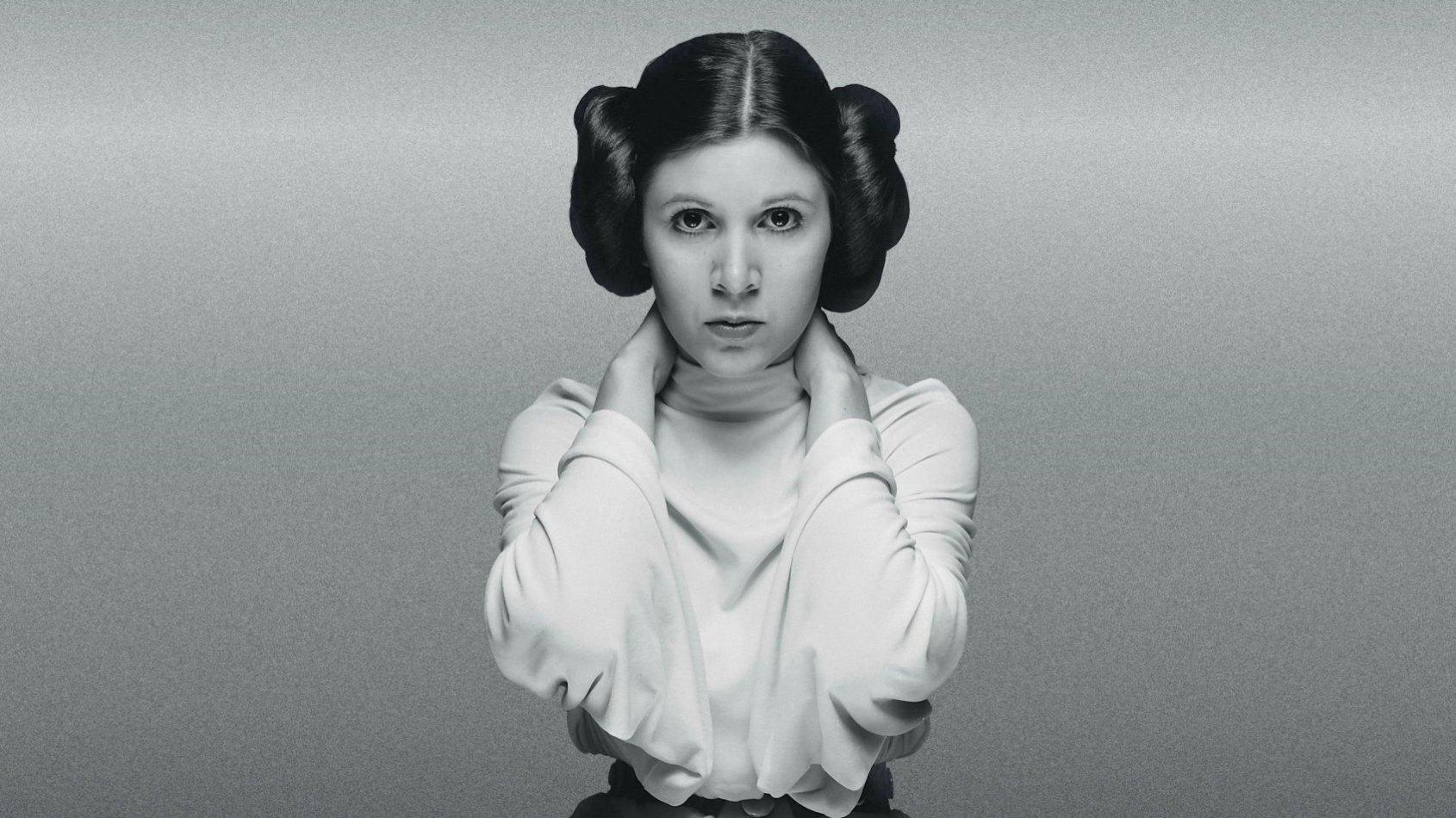La Princesse Leia utilise la force dans Aftermath Life Debt