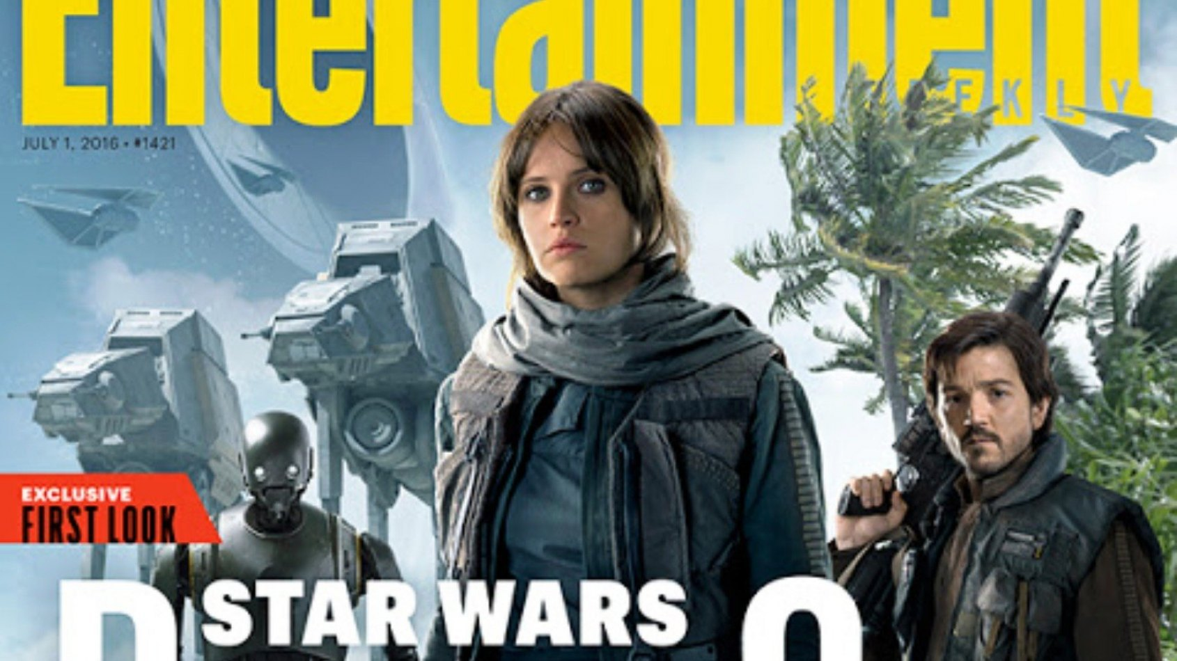 Entertainment Weekly révèle une tonne d'informations sur Rogue One