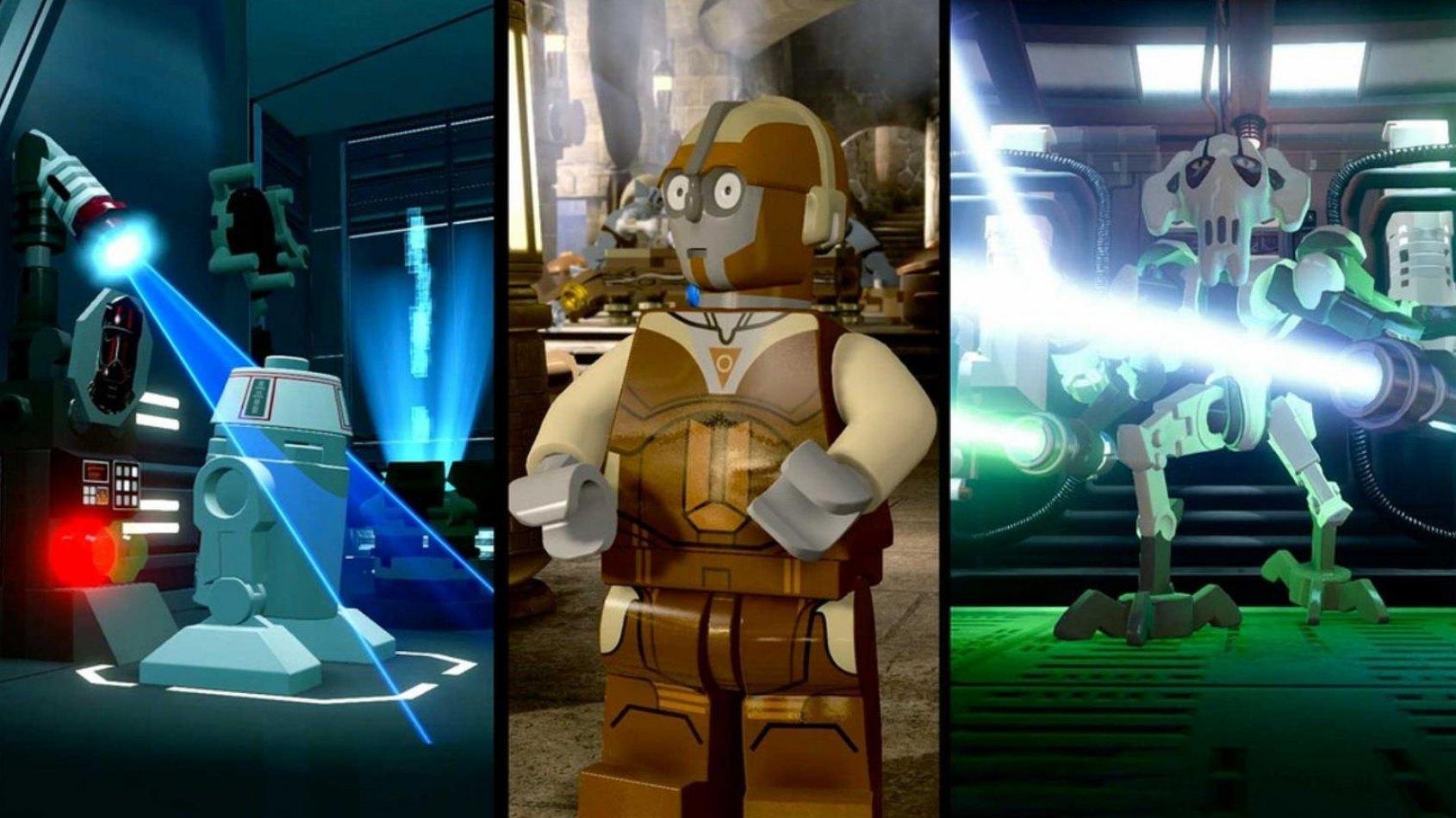 LEGO Star Wars: Les droïdes à l'honneur dans un nouveau trailer