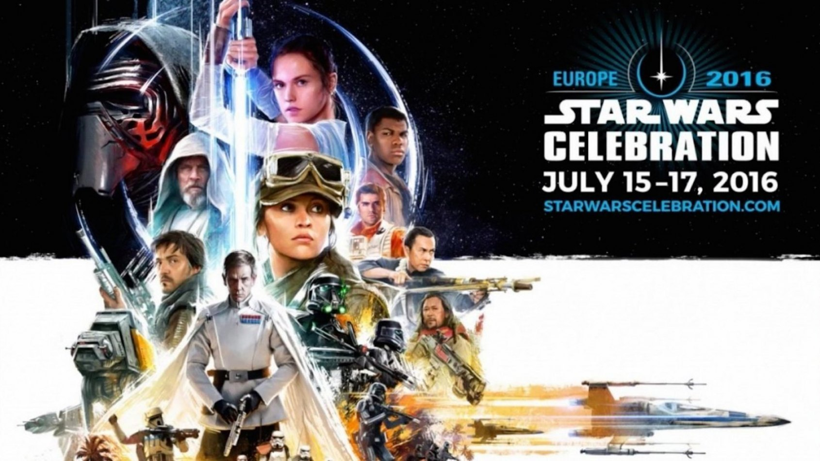 Une application mobile pour la Star Wars Celebration à Londres