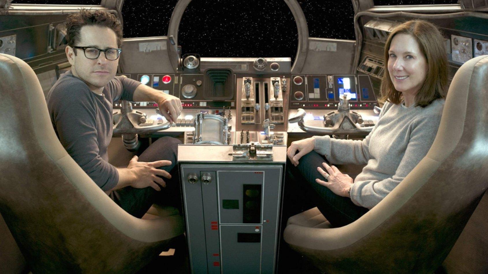 Lego Star Wars: JJ Abrams et Kathleen Kennedy en personnages !