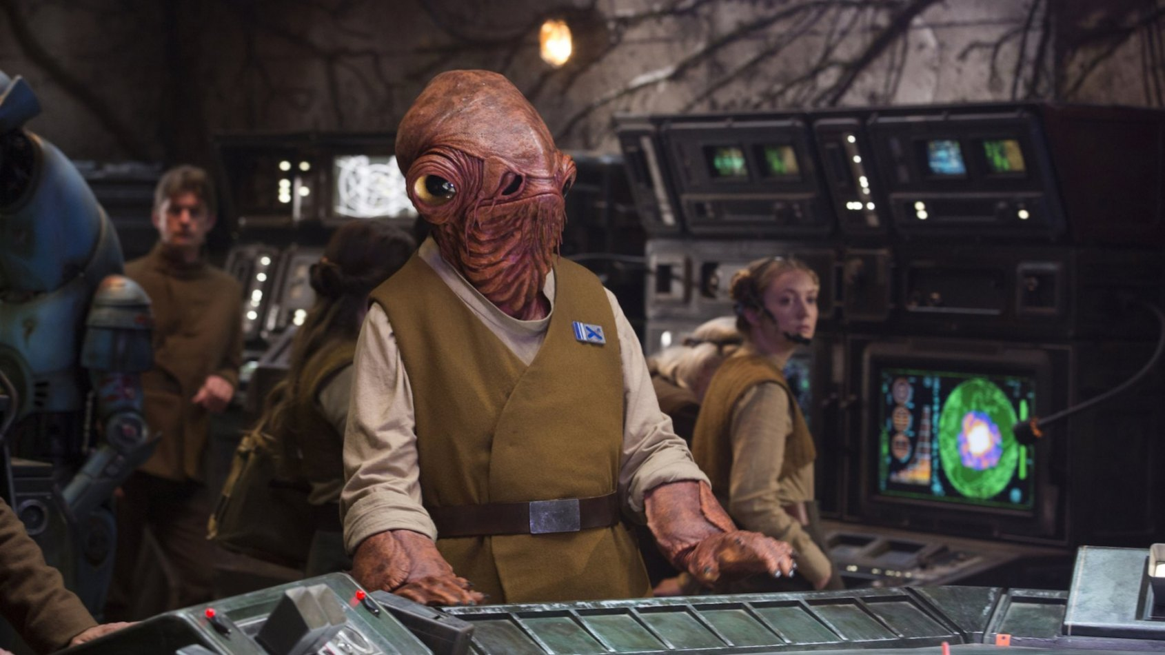 It's a trap ! No, it's a trip... un voyage � Paris pour Ackbar