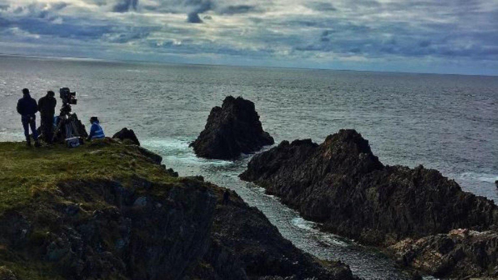 Episode VIII : 2 photos du tournage en Irlande