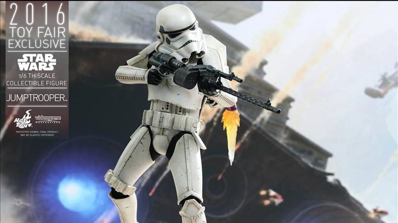 Hot Toys présente son Jump Trooper !
