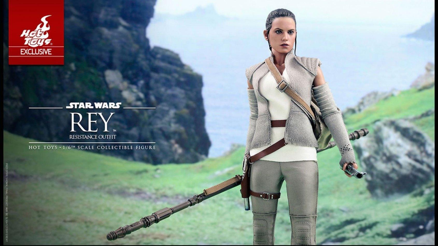 Hot Toys : Rey Résistante...et bientôt Luke Skywalker !