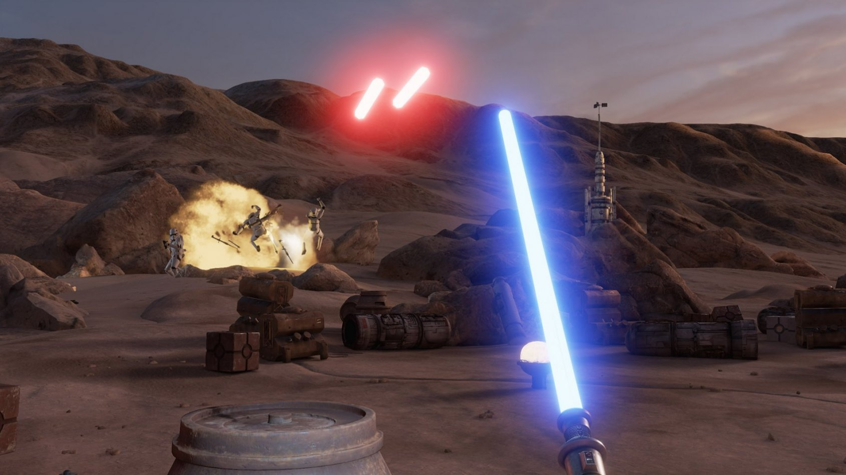Trials on Tatooine : nouvelle expérience VR disponible sur STEAM