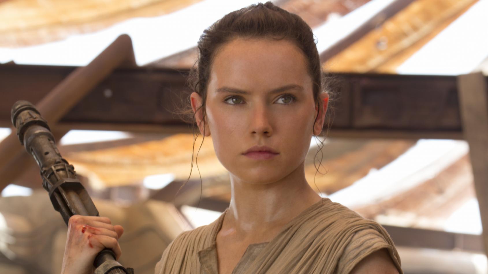 Une photo de tournage du R�veil de la Force partag�e par Daisy Ridley