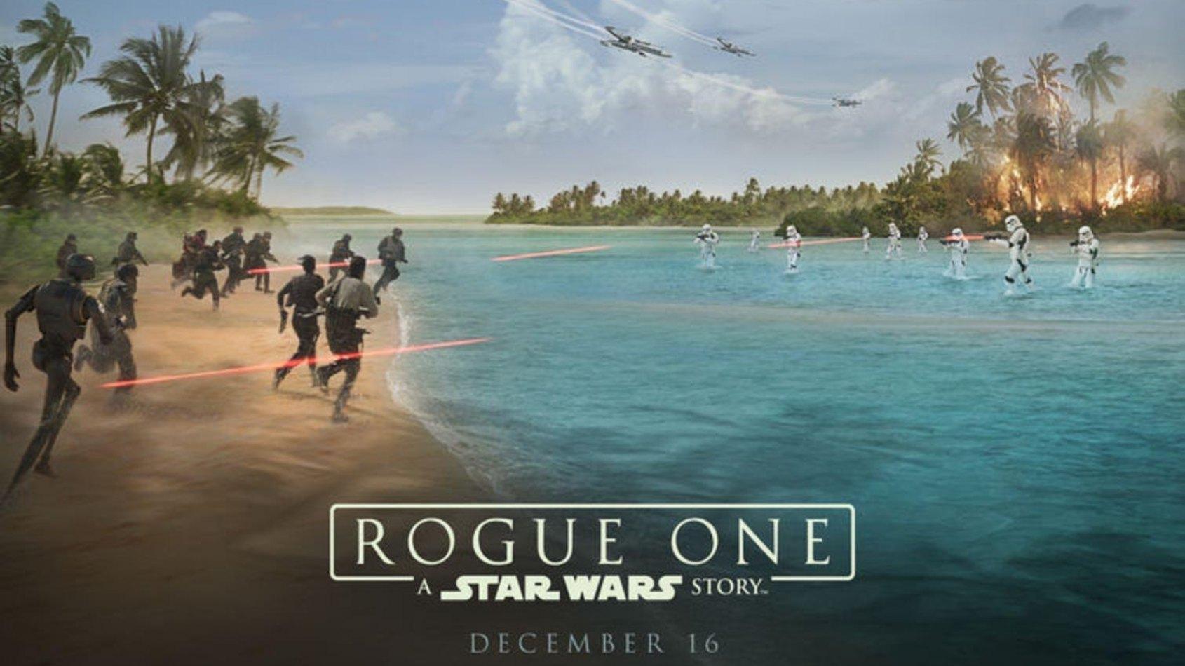 L'affiche officielle de Rogue One d�j� dans les cin�mas !