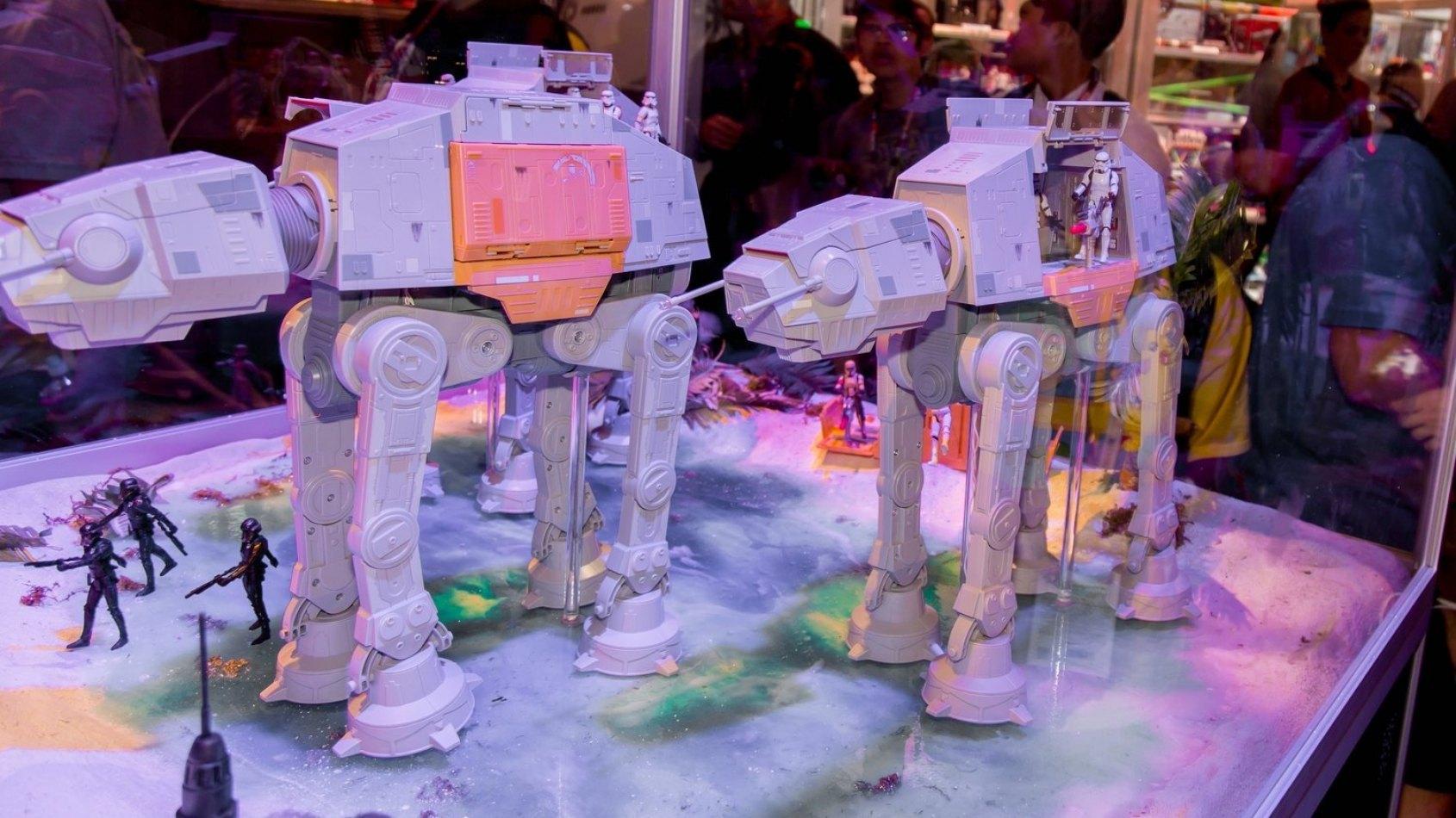 Les premiers jouets Rogue One d�voil�s au San Diego Comic Con