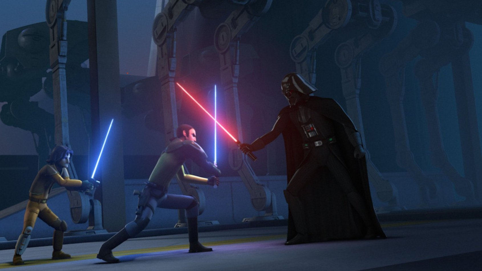 Comment la trilogie originale a inspiré Star Wars Rebels