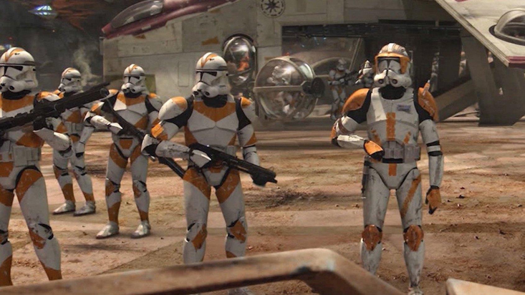 L'évolution des stormtroopers dans Star Wars