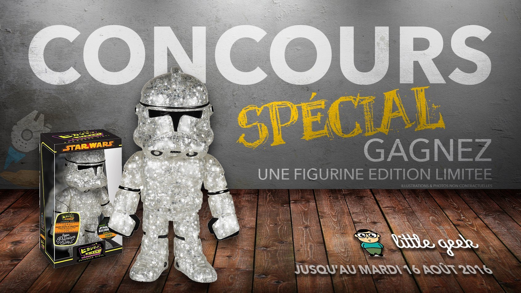 CONCOURS SPECIAL - Gagnez une figurine Funko en édition limitée