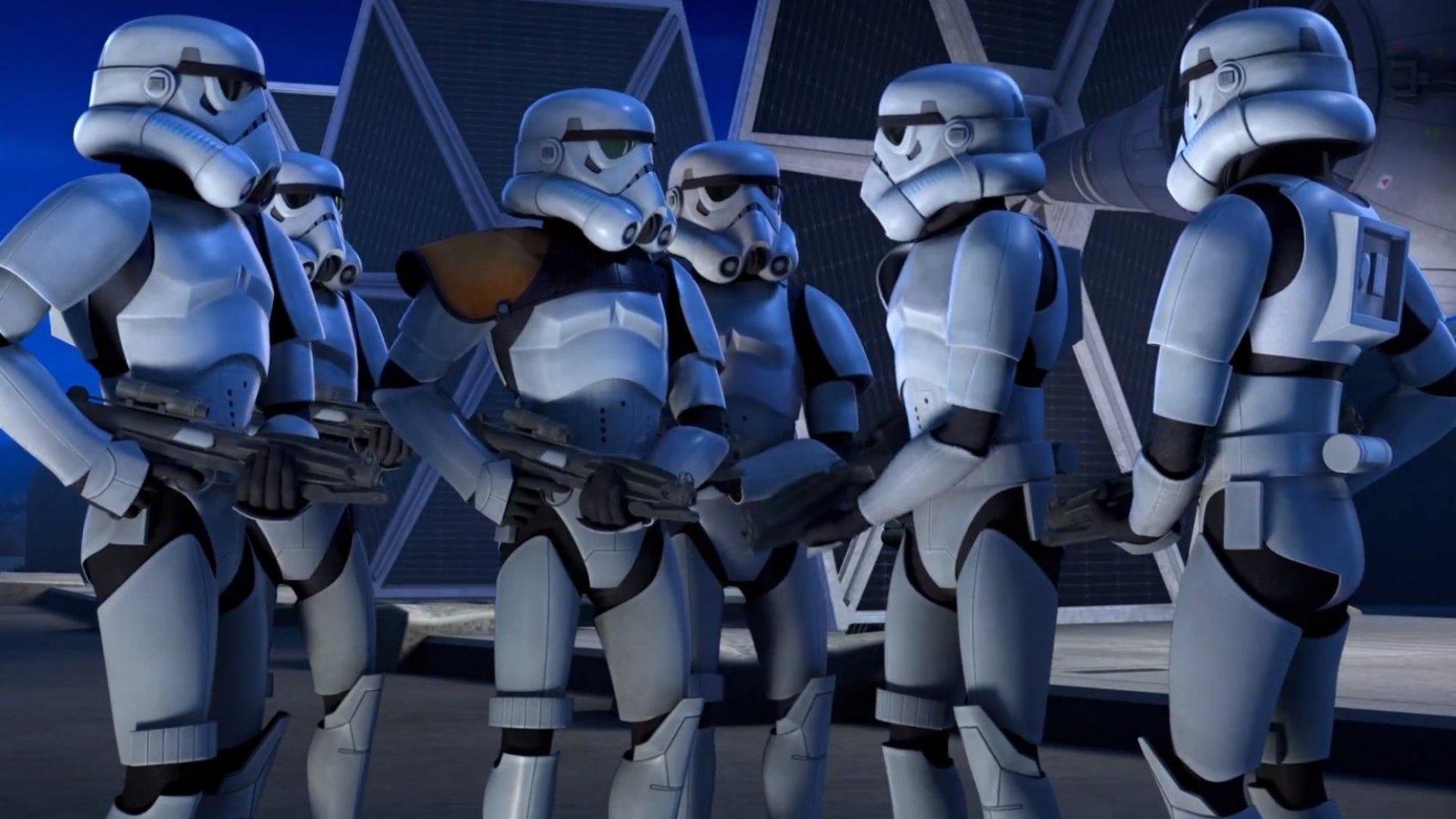 Une Nouvelle S�rie Anim�e Star Wars en projet ?