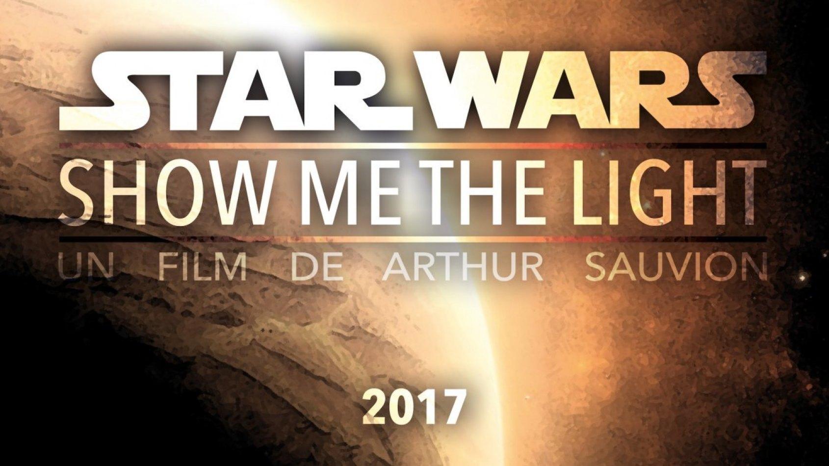 Star Wars - Show Me The Light, un court m�trage avec Plan�te Star Wars