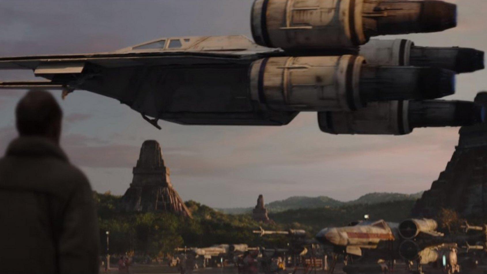 De nouvelles images du 2�me Trailer de Rogue One !