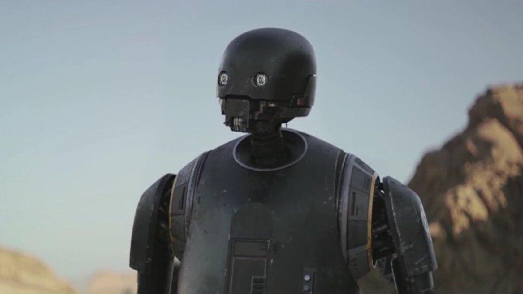 Alan Tudyk partage des détails sur le droïde K-2SO