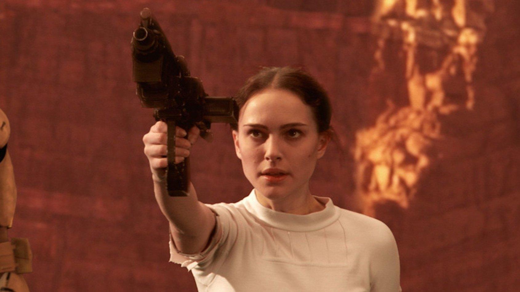 Natalie Portman a visit� les plateaux de Rogue One & de l'�pisode VIII