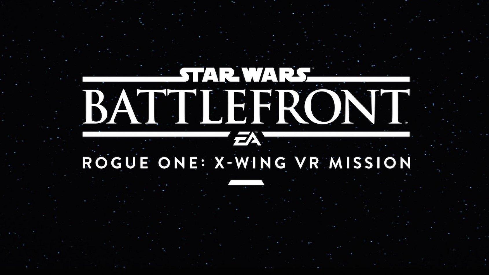 Star Wars Battlefront Rogue One: une mission en réalité virtuelle