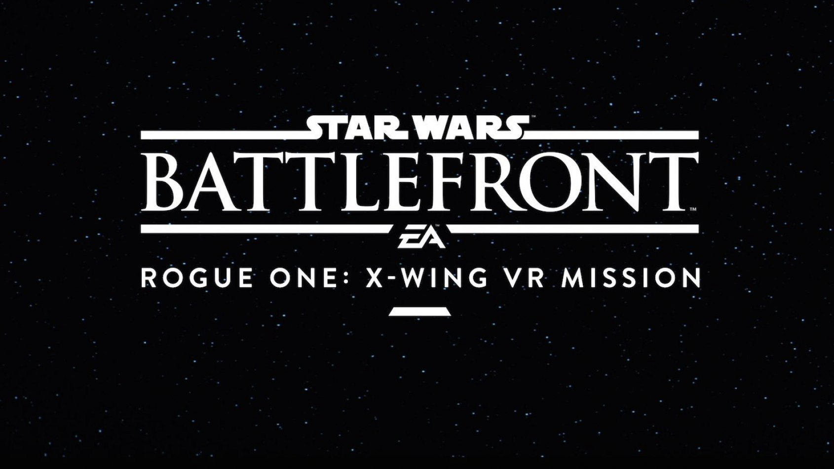 Star Wars Battlefront Rogue One: une mission en r�alit� virtuelle