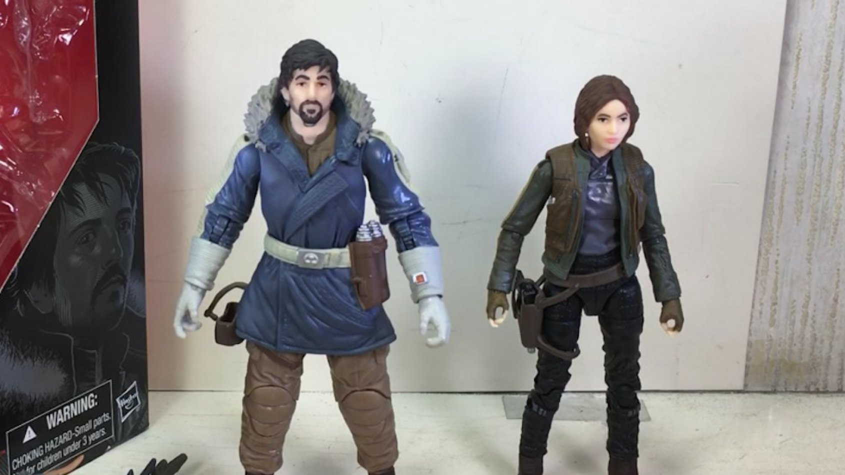 Review des figurines Black Series de Rogue One