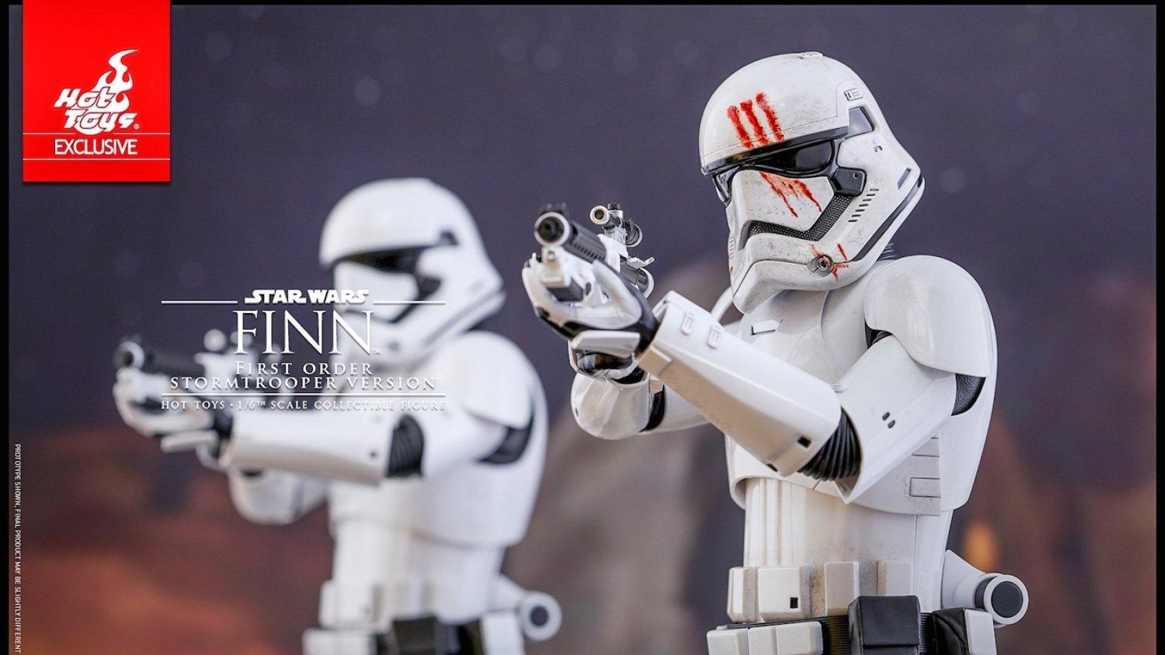 Hot Toys: Finn Stormtrooper � l'�chelle 1/6�me