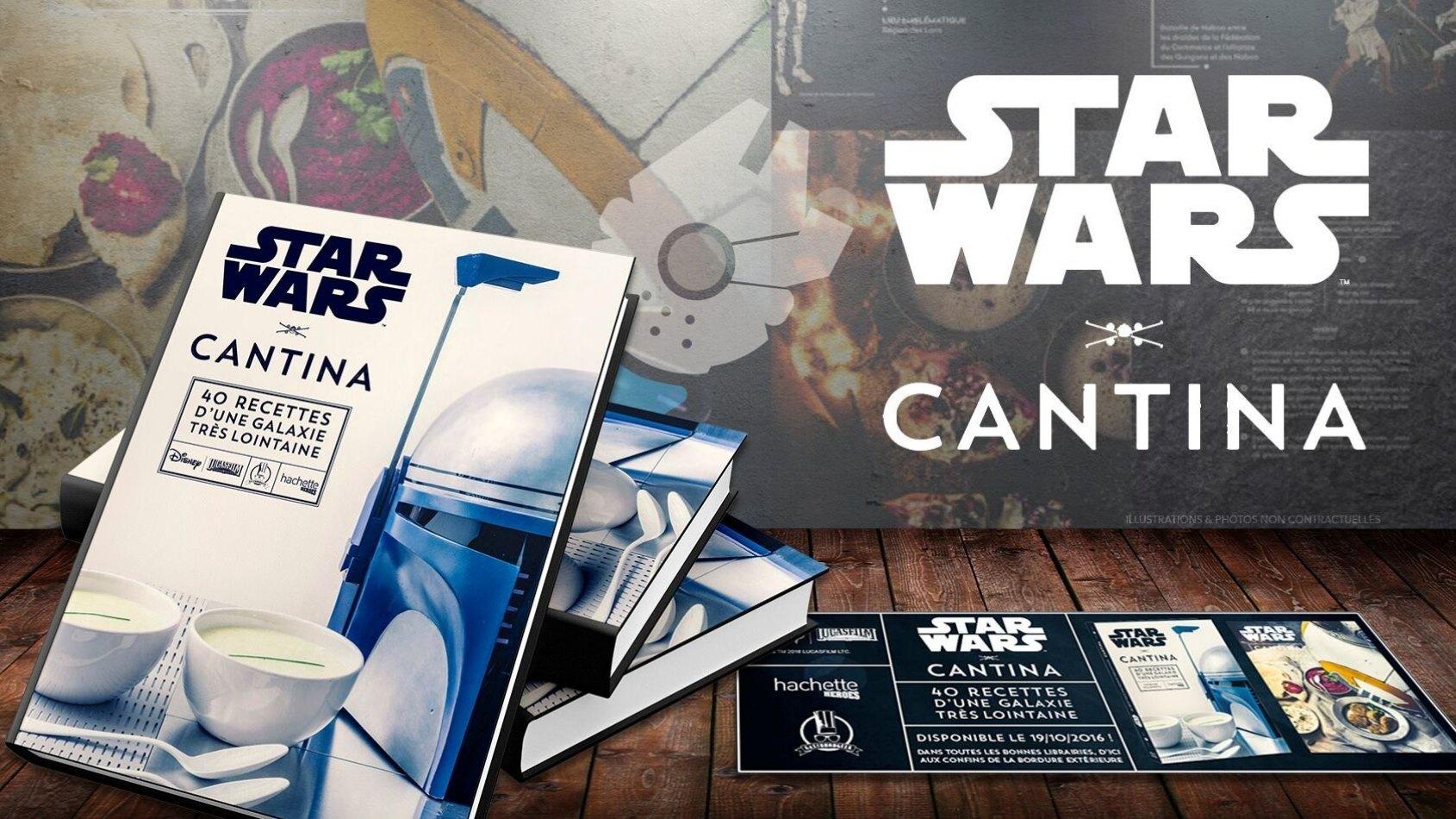 Star Wars Cantina, LE livre de cuisine de la saga
