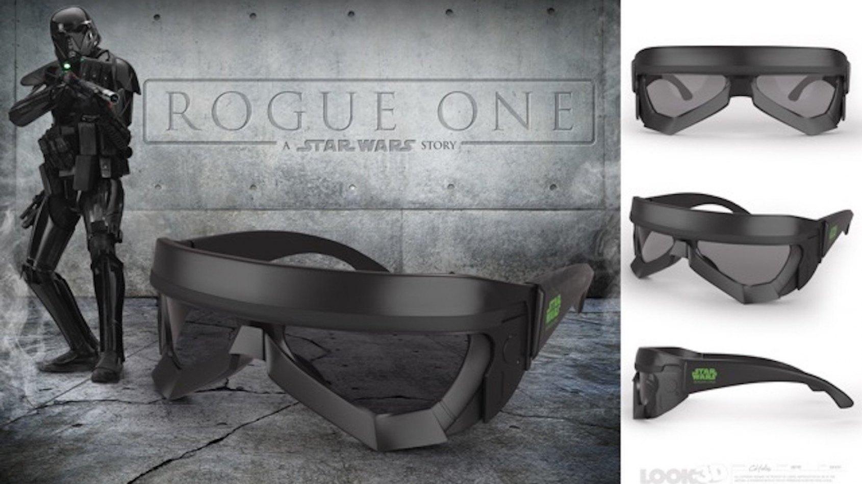 Les lunettes 3D de Rogue One révélées