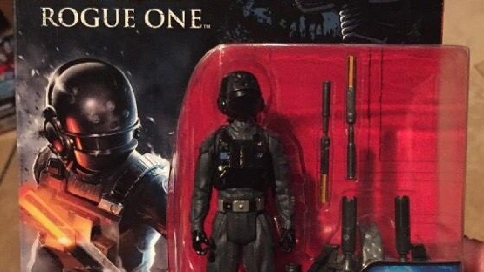 De nouvelles figurines de Rogue One dévoilées
