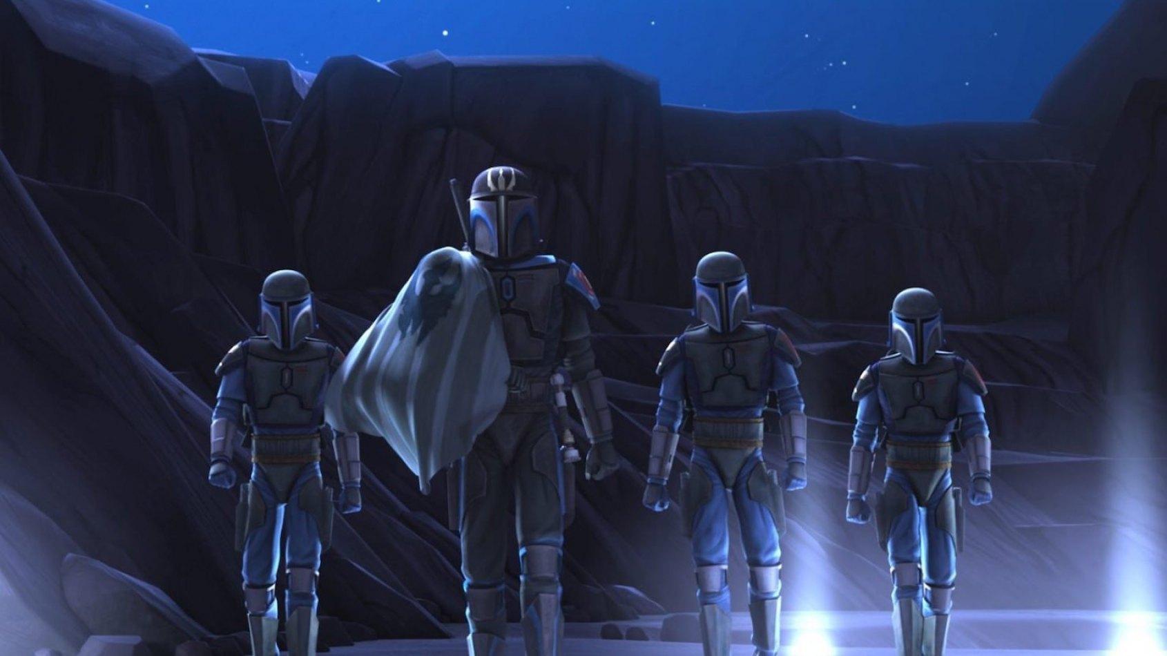 Les guerriers dans la saga Star Wars