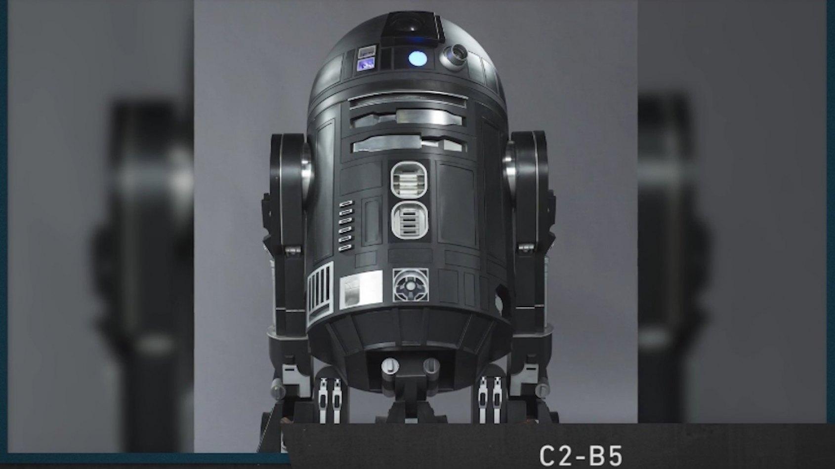 Star Wars Show #17: un dro�de de Rogue One r�v�l�, Galaxy of Heroes...