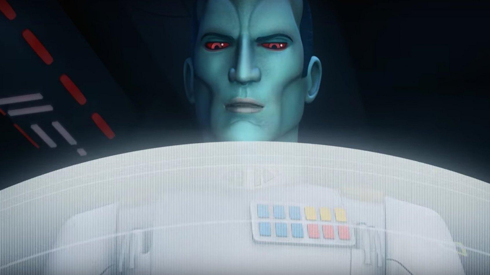 Un nouveau trailer pour Thrawn dans Rebels