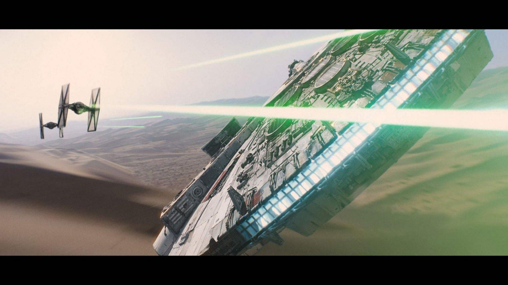 Tous les secrets FX de Star Wars : Le R�veil de la Force en une vid�o