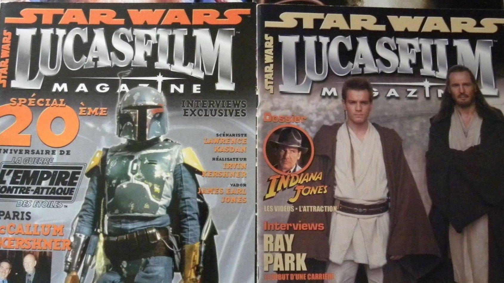 Un Livre sur les ann�es Lucasfilm Magazine pour Octobre !