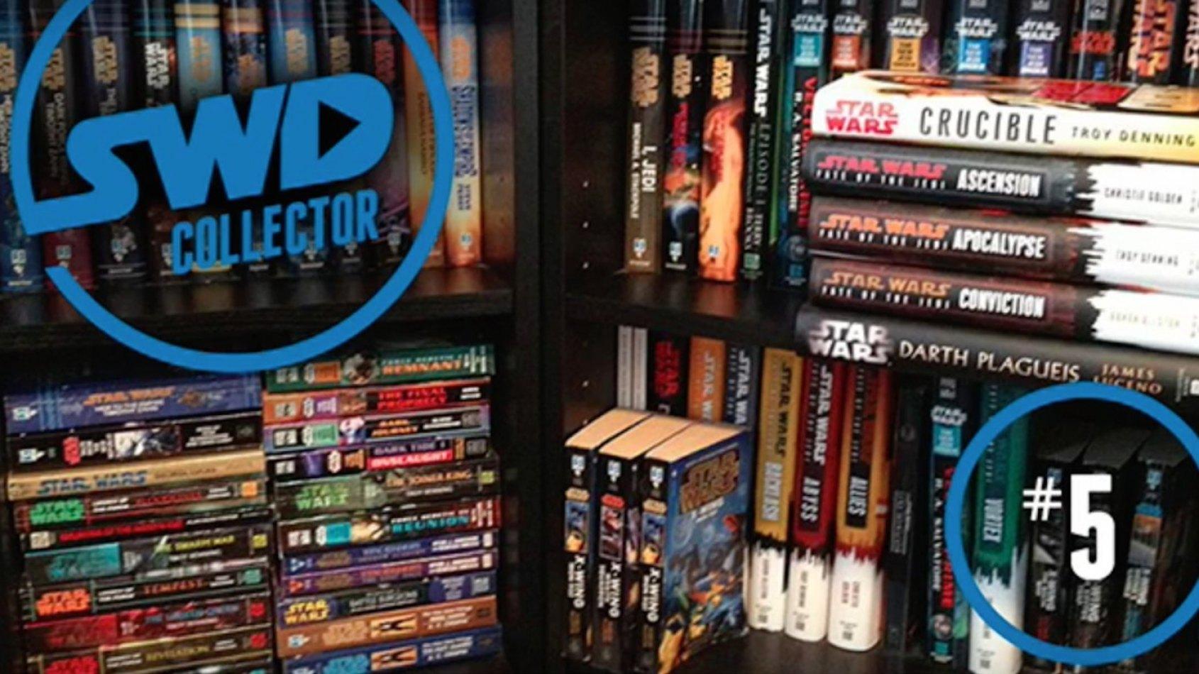 Star Wars en Direct : Collectionner les Livres