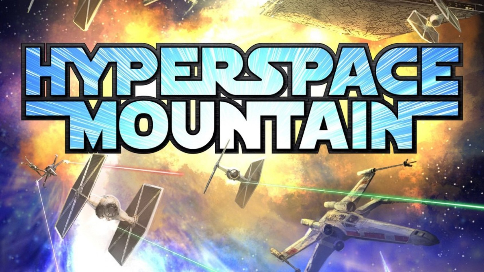 Hyperspace Mountain arrive � Disneyland Paris !