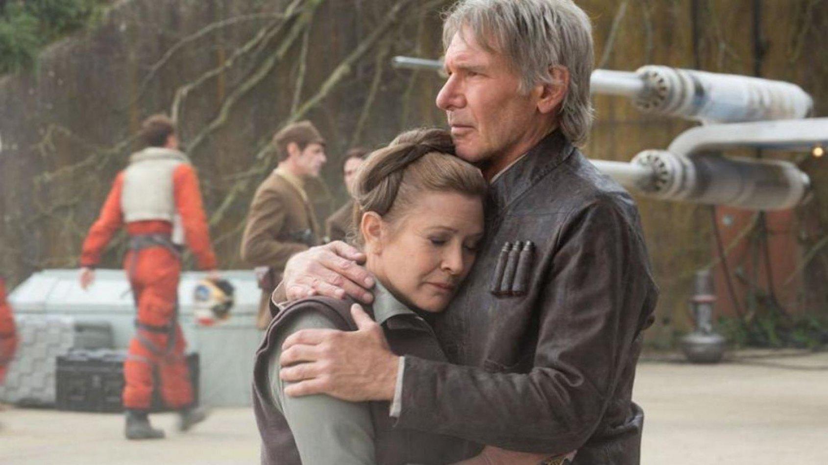Carrie Fisher revient sur la s�paration entre Han Solo et Leia