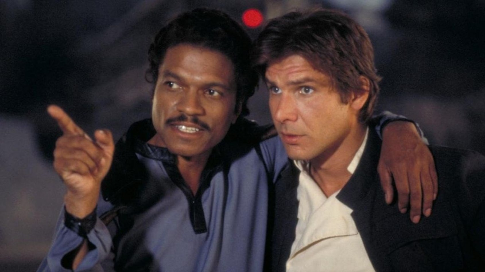 Billy Dee Williams contre un jeune Lando dans le spin off  de Han Solo
