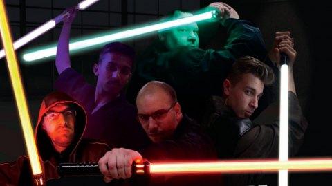 La première école de sabre laser en Normandie