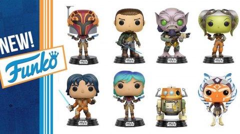 Arrivée massive de figurines Pop Star Wars Rebels