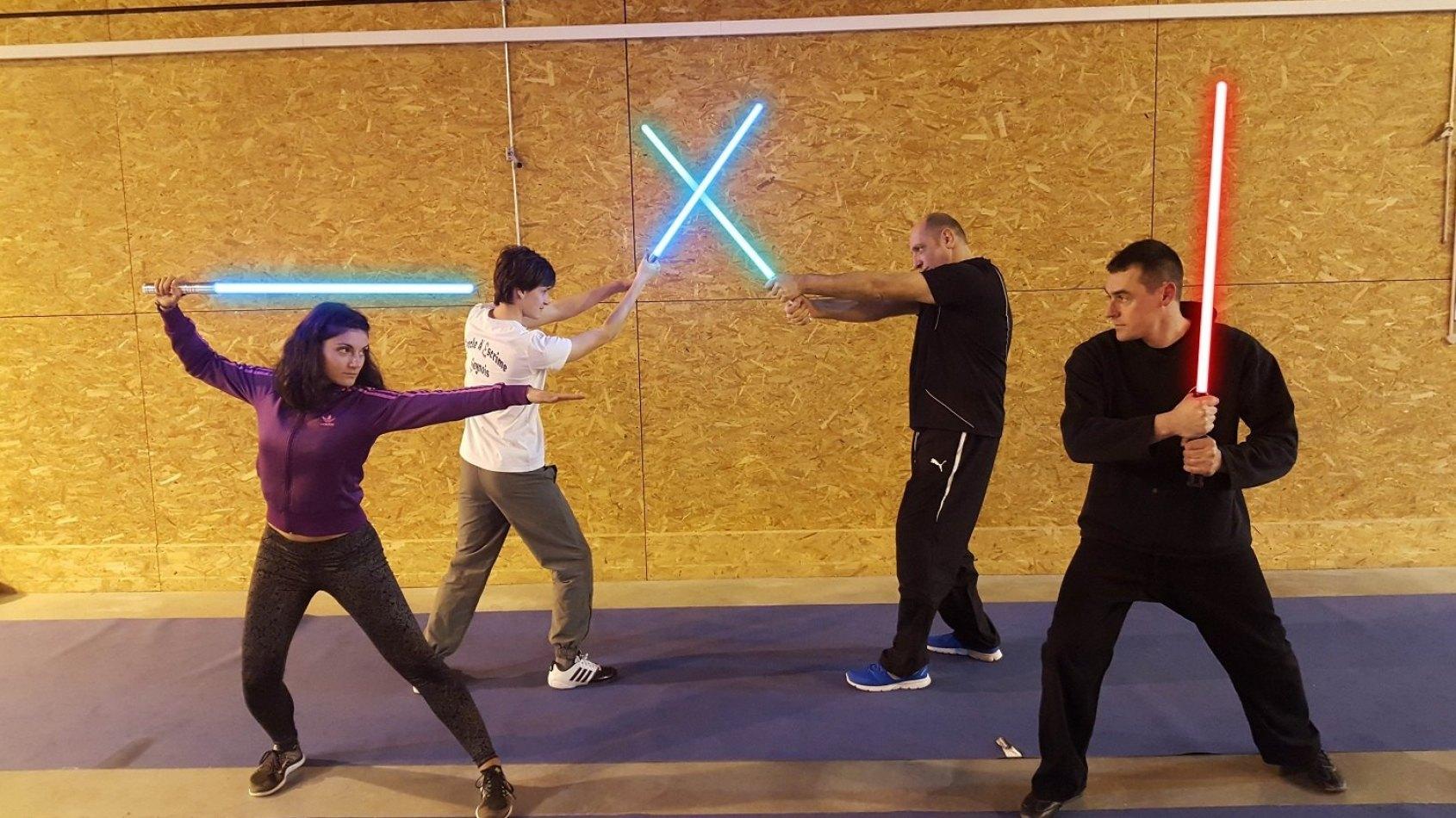 Cours de Sabre Laser pour la 1�re fois dans le Var !