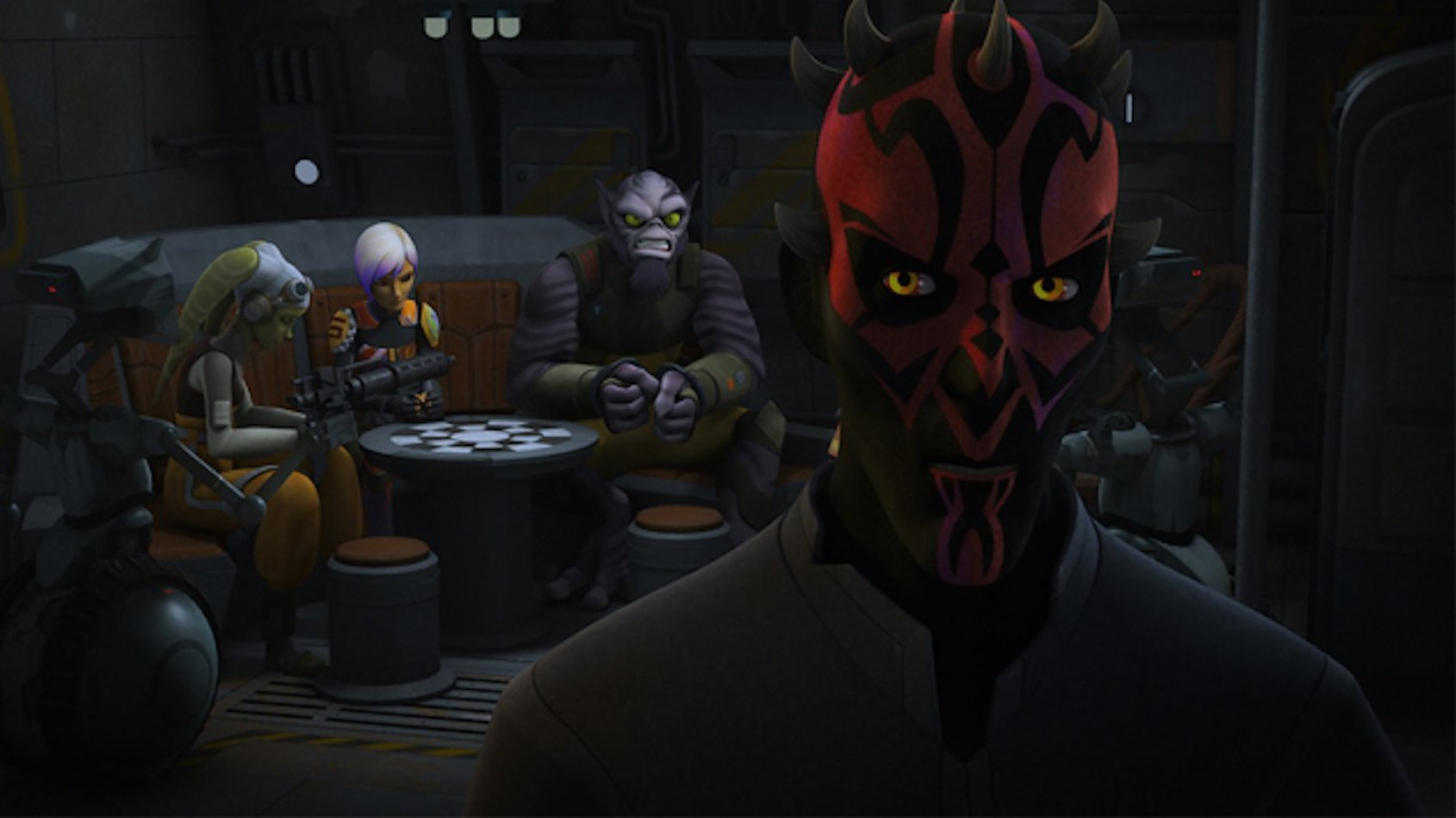 Extrait de l'épisode The Holocrons of Fate de Star Wars Rebels