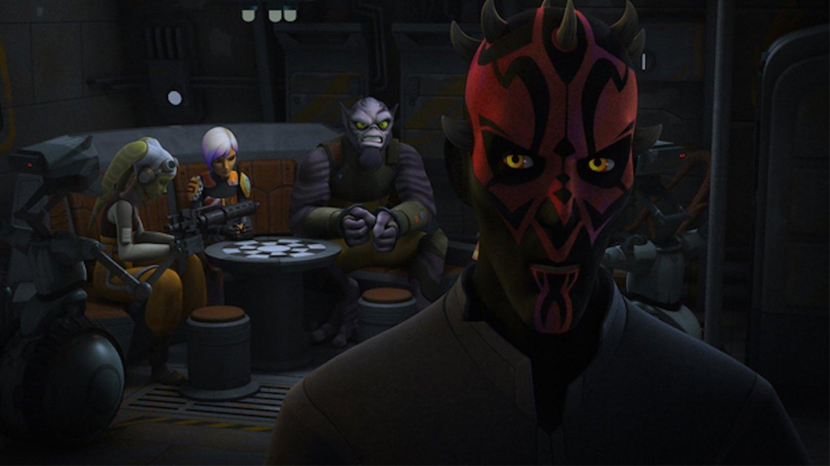 Extrait de l'�pisode The Holocrons of Fate de Star Wars Rebels