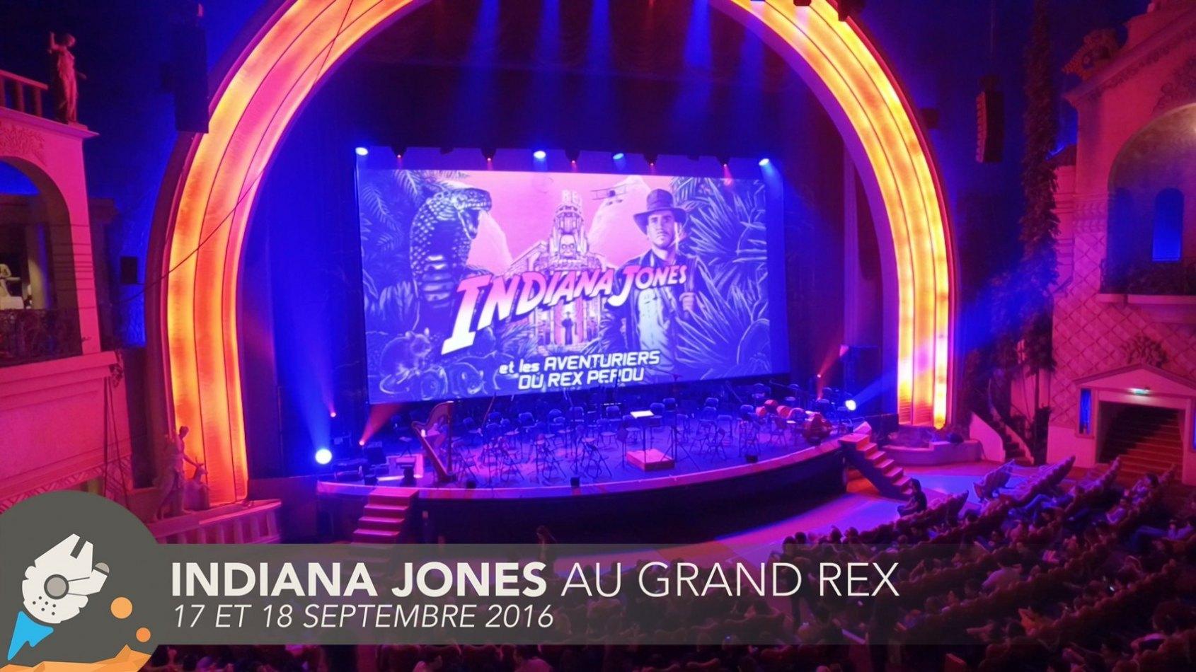 Retour en vid�o sur Indiana Jones au Grand Rex !