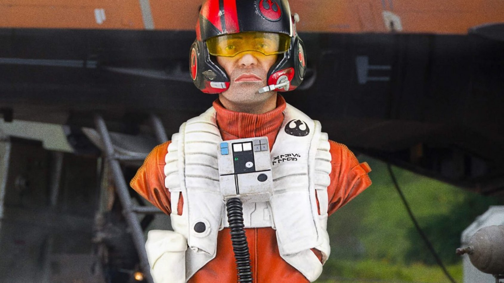 Gentle Giant : le mini-buste de Poe Dameron