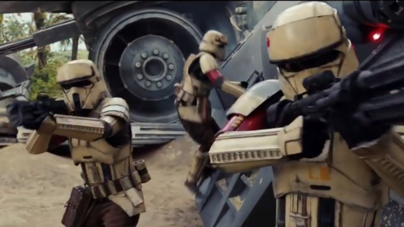 Les Shoretroopers de Rogue One en action !
